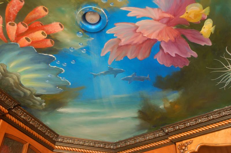 'Neptune' Ceiling Mural