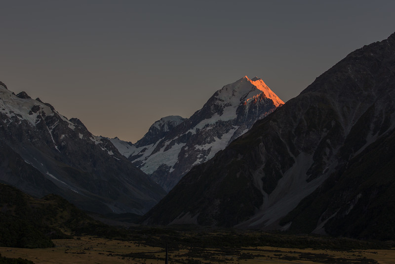 Mt. Cook at Sunset