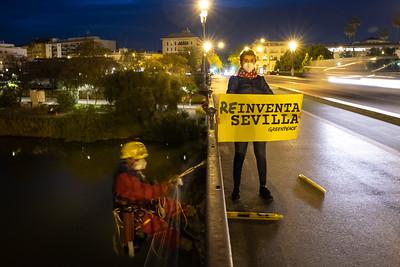 Pancarta Sevilla