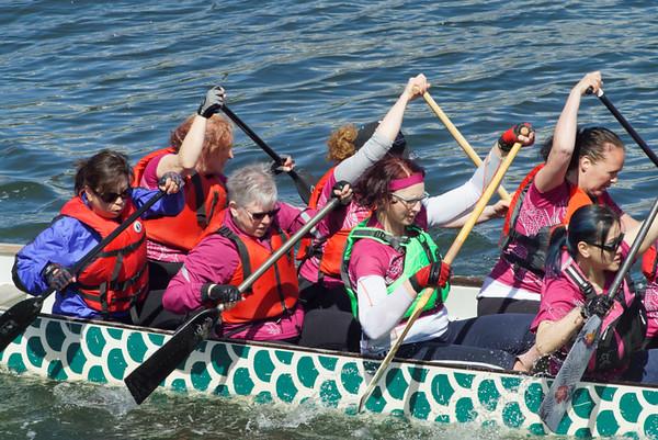 False Creek Dragon Boating, May 6, 2017