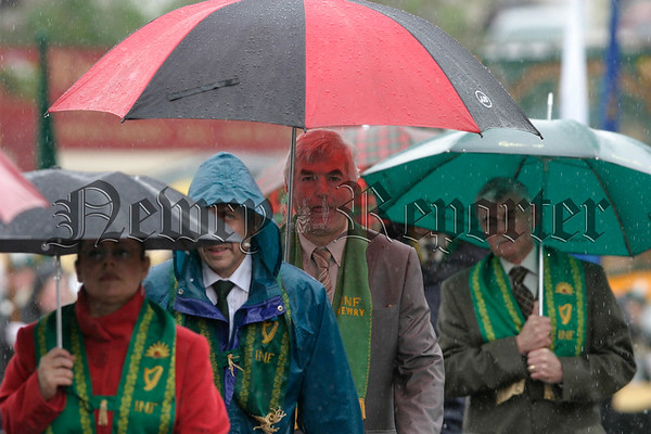 Members of the Newry foresters at the parades in Rostrevor, 07W32N311