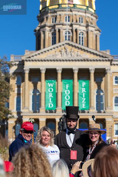 Donald Trump Jr. rally in Des Moines, Iowa 10-13-2020