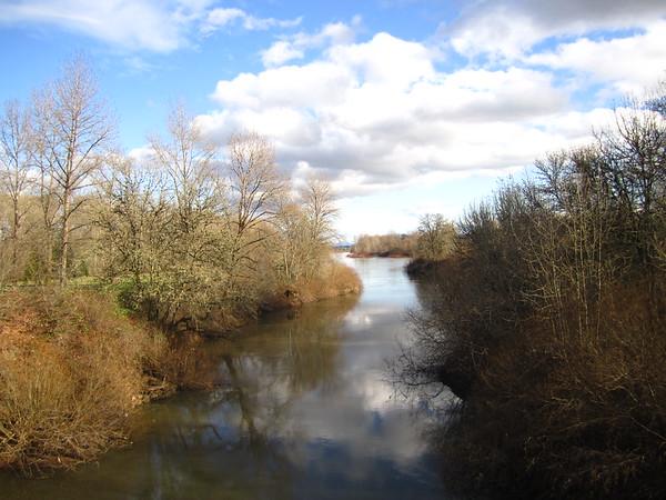 Oregon - Corvallis River