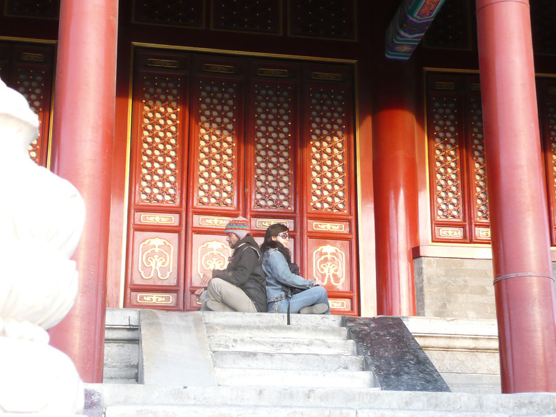 Jingshan Park, 2010,  Beijing, across the road from North Gate Forbidden City, a love place to visit