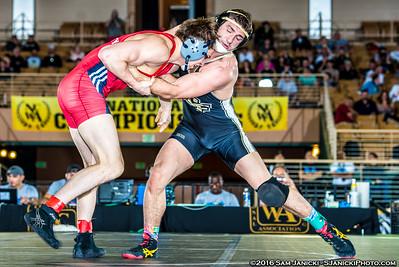 174 - Speiller def. Ferenczy - 2016 NCWA Championships