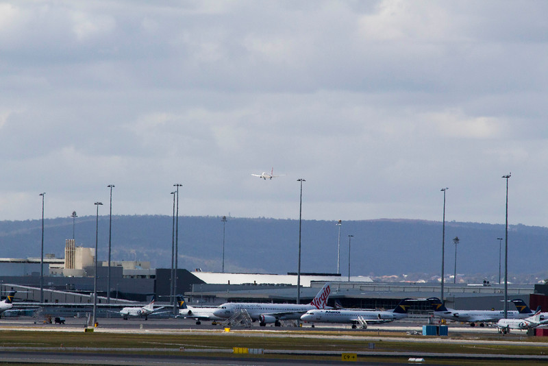 Perth Airport T1 Domestic and T2
