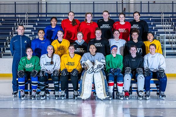 NAVY Women's Ice Hockey Spring 2021