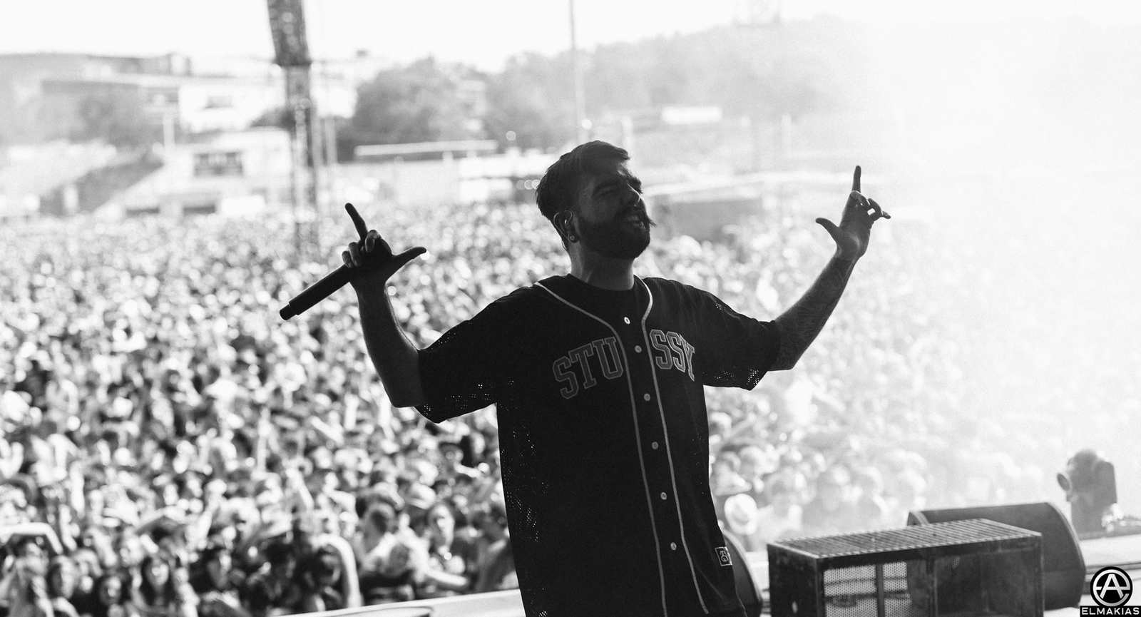 Jeremy McKinnon of A Day To Remember live at Rock IM Park