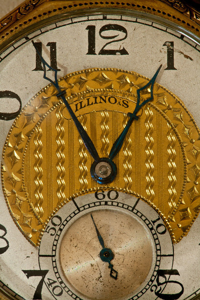 This Illinois watch was manufactured in 1923.