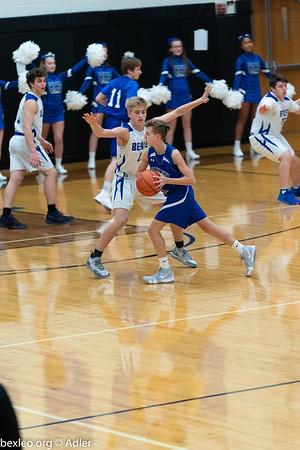 Freshman Boys Basketball vs Grove City