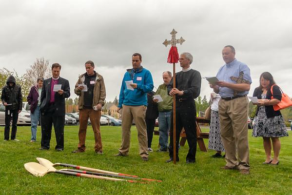 Holy Cross Groundbreaking 2014