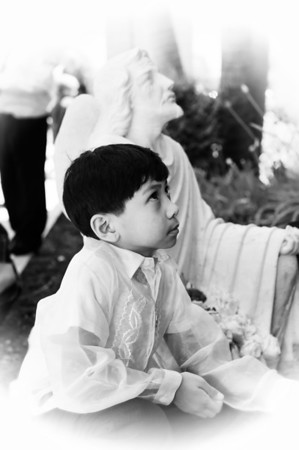 Carlo's First Communion