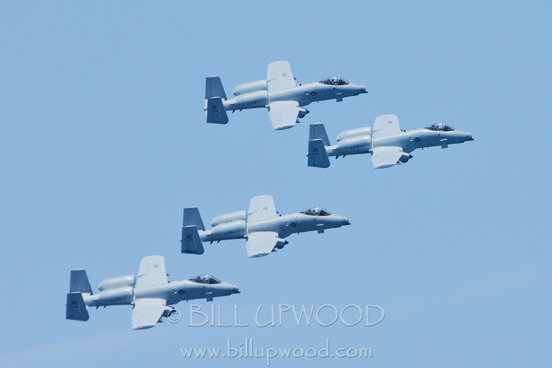 A10s, 4th of July Airshow, Traverse City, Michigan