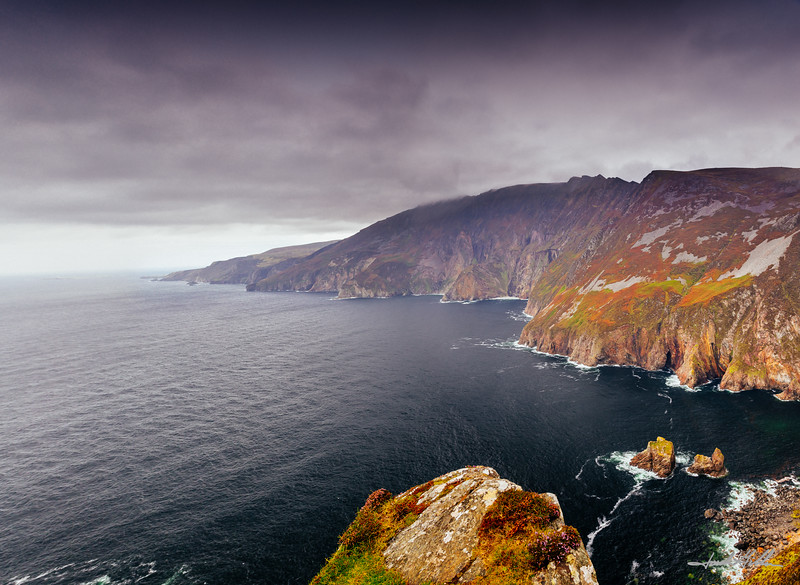 Clearing Skies at Sliabh Liag (Slieve League Sacred Cliffs