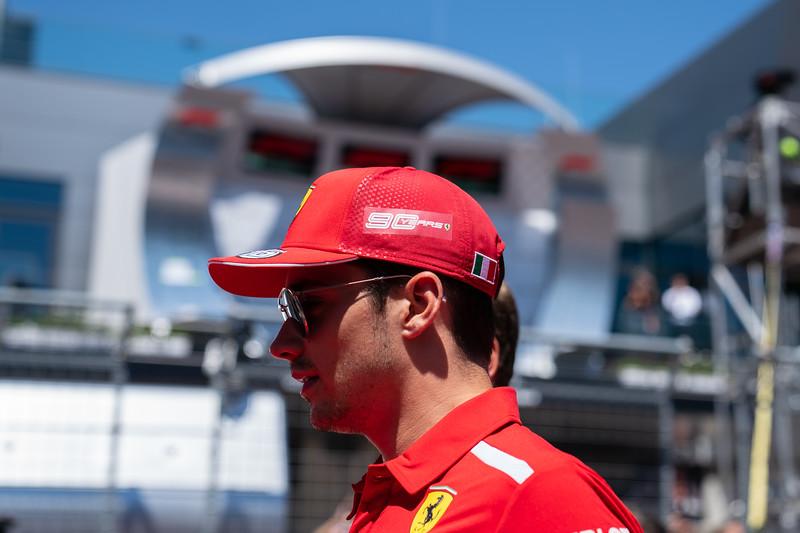 #16 Charles Leclerc, Scuderia Ferrari, Austria, 2019