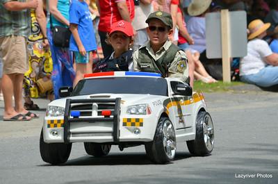 Hatley Parade & FIreworks July 1, 2014
