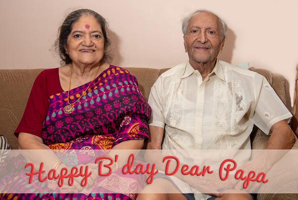 Papa's Birthday, May 2018