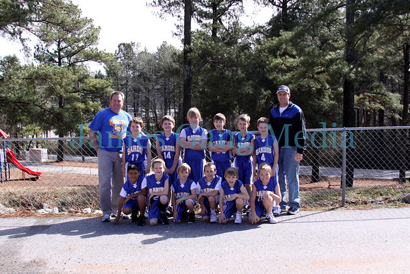 8yo Bobcats Team Pics - February 5, 2011