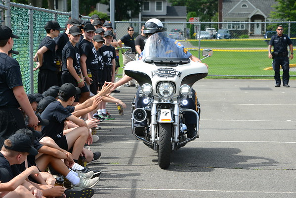Paramus Police Motorcycle Unit Demo