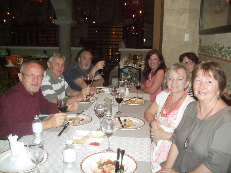At El Patio restaurant - 8