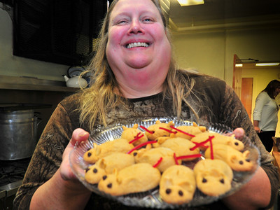 Cedar Lutheran Church Cookie Exchange, 2011