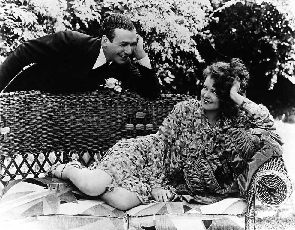 . Actress Clara Bow with Harry Richman on Jan. 24, 1930 whom she now states she is to marry. (AP Photo)