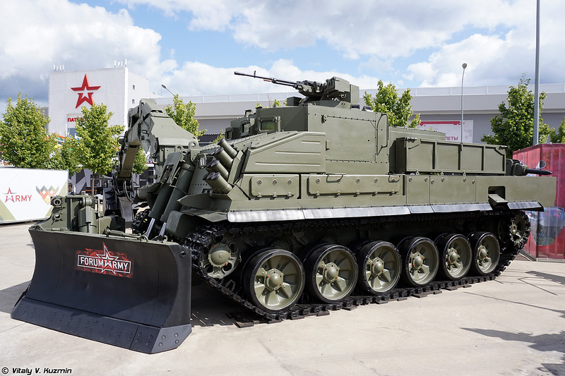 Military-technical forum ARMY-2021 - Static displays part 3: Signal, command, engineer and support vehicles