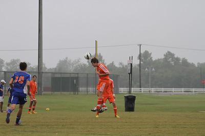U-18 Pride Sweep the Swamp Sept 28, 2012