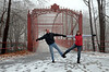 2015-01-04 Lovers Leap State Park New Milford V(20) Mom Dad Bridge