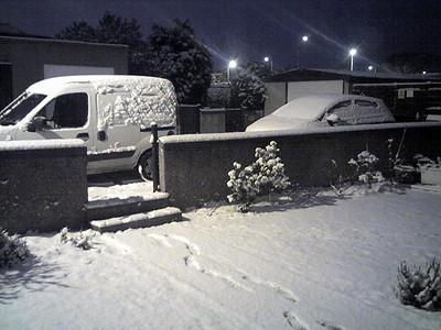 2009 Snow in Edinburgh