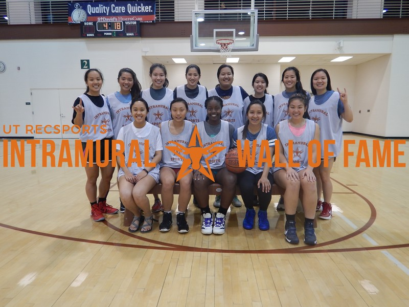 Spring 2016 Basketball Women's Champion Wu Cru