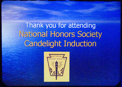 Photo's By Dennis - 11/30/06 Lincoln Park H.S. National Honor Society Candlelight Induction Ceremony