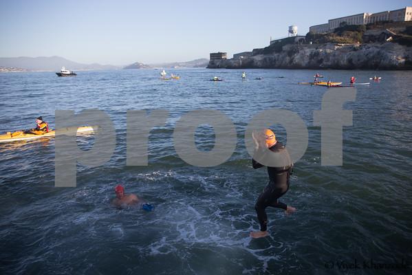 2014 Alcatraz Swim with the Centurions