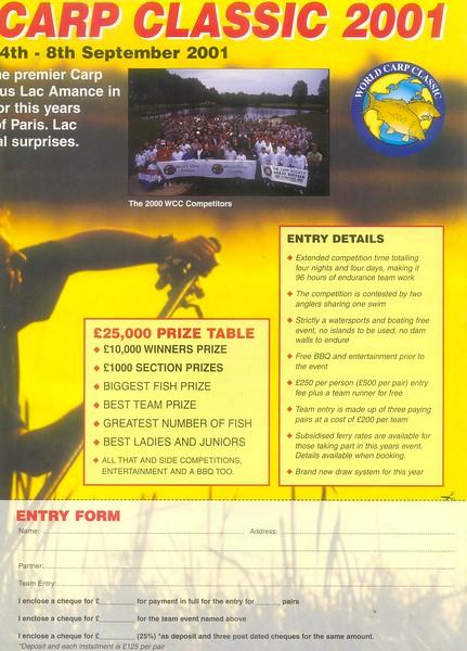 WCC 2001 - 25 b Carpworld-pre-event advert.jpg