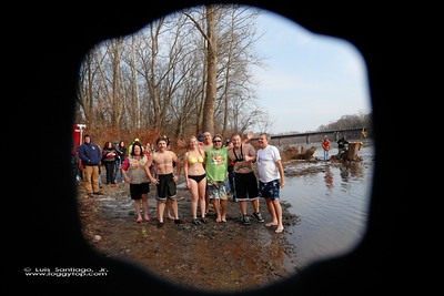 Polar Plunge @ The Riverside 01 January 2014