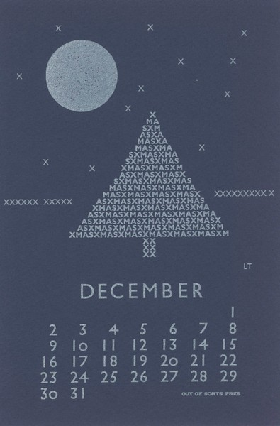 December, 1979, Out of Sorts Pres
