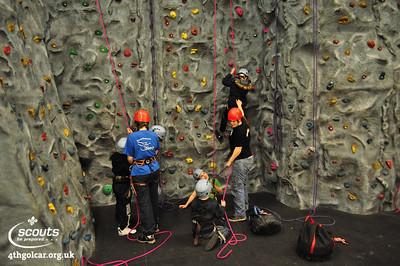 April - Rock Climbing