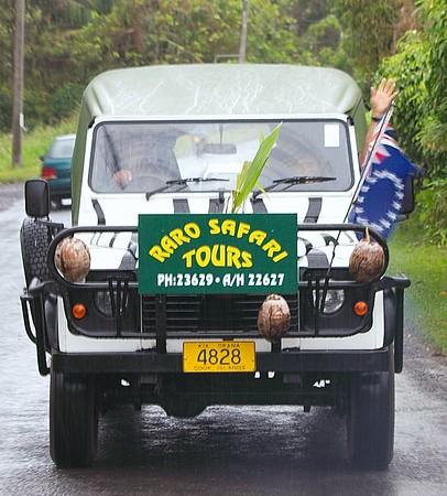 Rarotonga - 4WD Safari