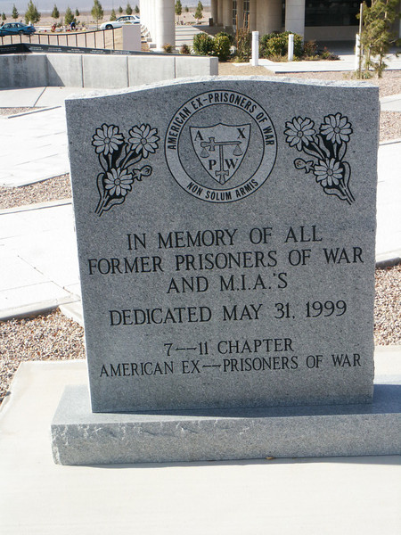 In Memory of All Former Prisoners of War and MIA's
