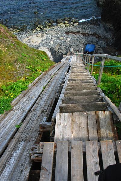 Stigi í Látravík sem upprunalega var smíðaður af Frímanni Haraldssyni