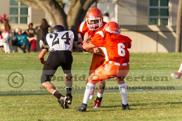 Boone Freshman Football #6 - 2012