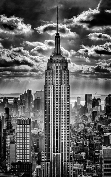 The City, a collection of prints from New York
