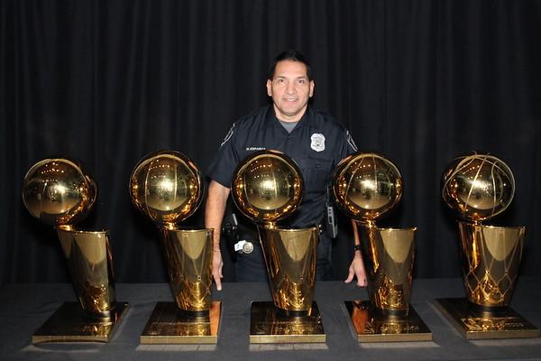 Trophy photos - Spurs