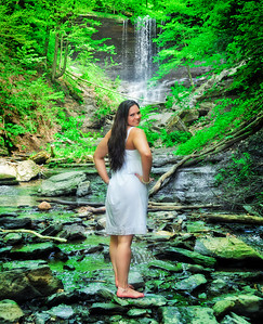 Professional Models Photography Syracuse NY, Model Portfolio Photography, Black and White Model Photography