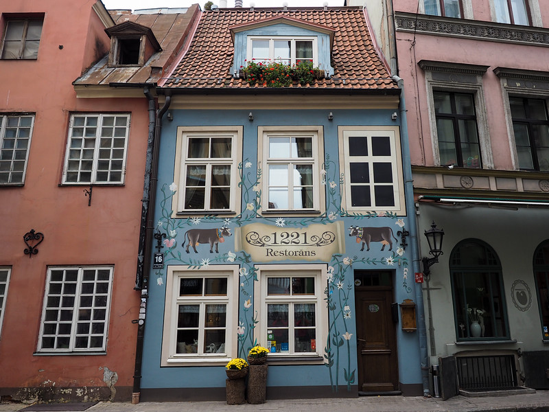 Old Town in Riga, Latvia