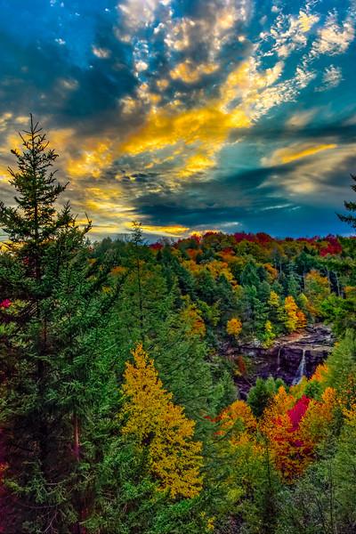 Blackwater Falls, WV (7 Images)