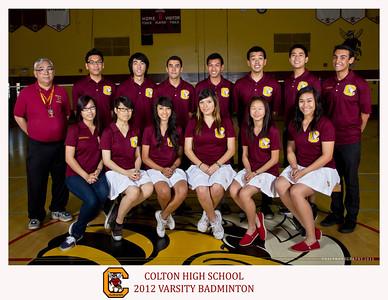CHS Badminton Team