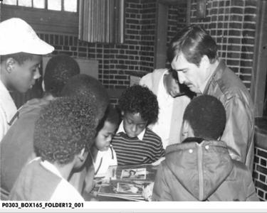 Carl Robertson of IPD Narcotics  10-1-1983