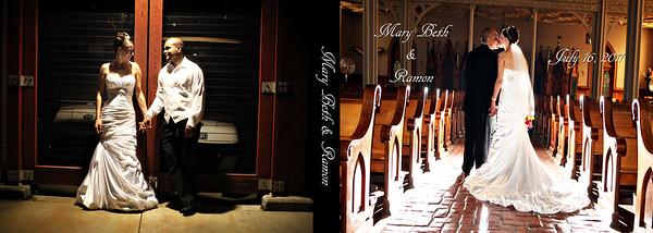 Mary Beth & Ramon 8x12 Tuscany Wedding Album
