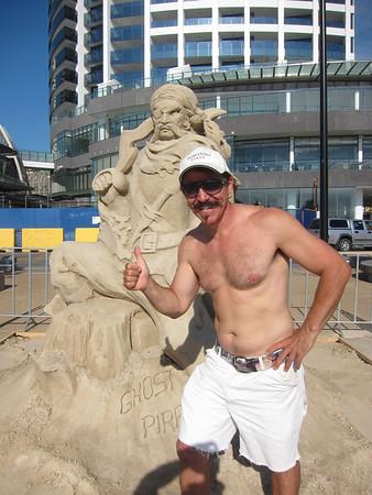 Australian Sand Sculpting Championships 2012